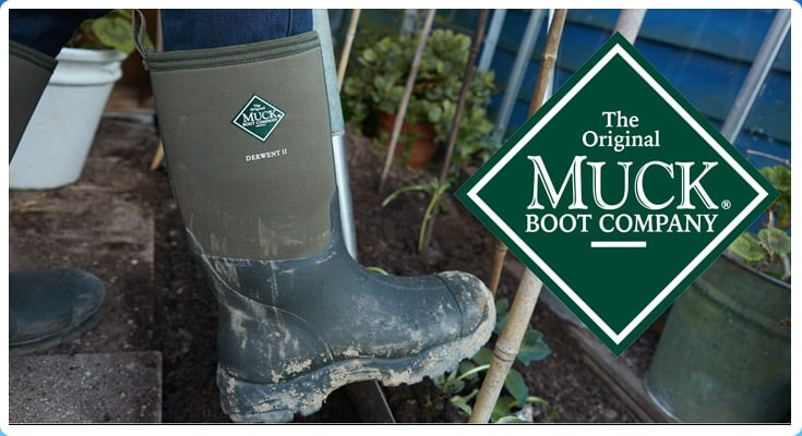 The Muck boot company at jellyegg