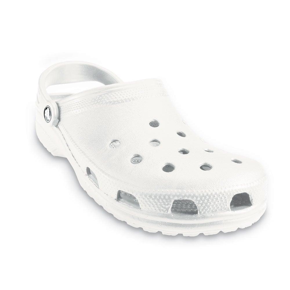 crocs classic shoe white original crocs slip on shoe