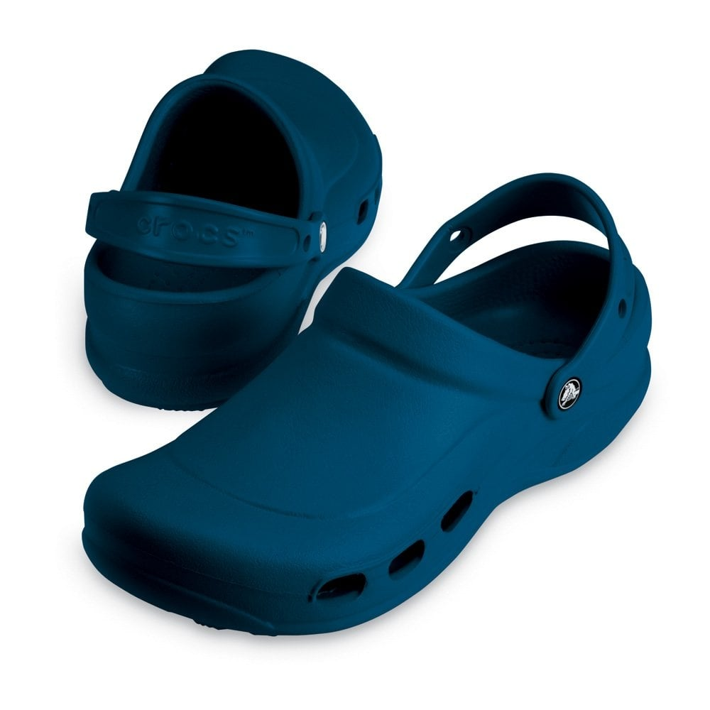 Crocs Specialist Clog Vent Navy Light And Comfortable Work Shoe With Ventilation Ports - Crocs ...
