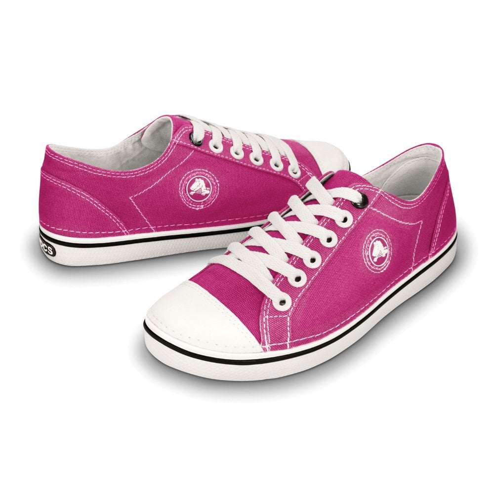Raspberry Canvas Shoes Womens