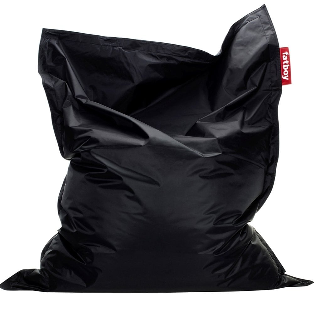 Fatboy Original Bean Bag Black, Massive comfort seating - Fatboy from Jelly Egg UK
