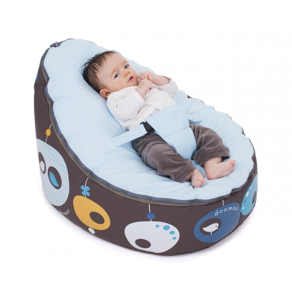 Doomoo Seat Bird Blue Bean Bag For Babies Amp Kids Doomoo
