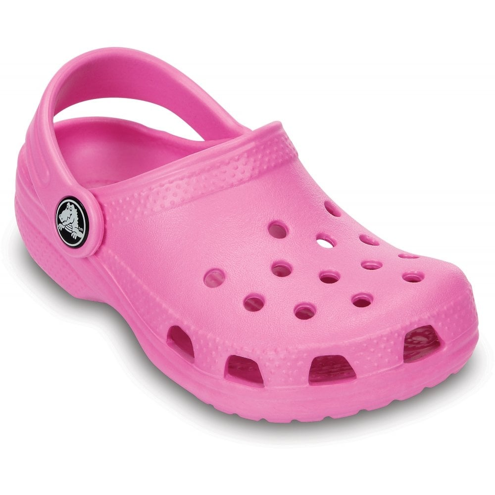 Crocs Kids Classic Shoe Party Pink, The original kids Croc ...