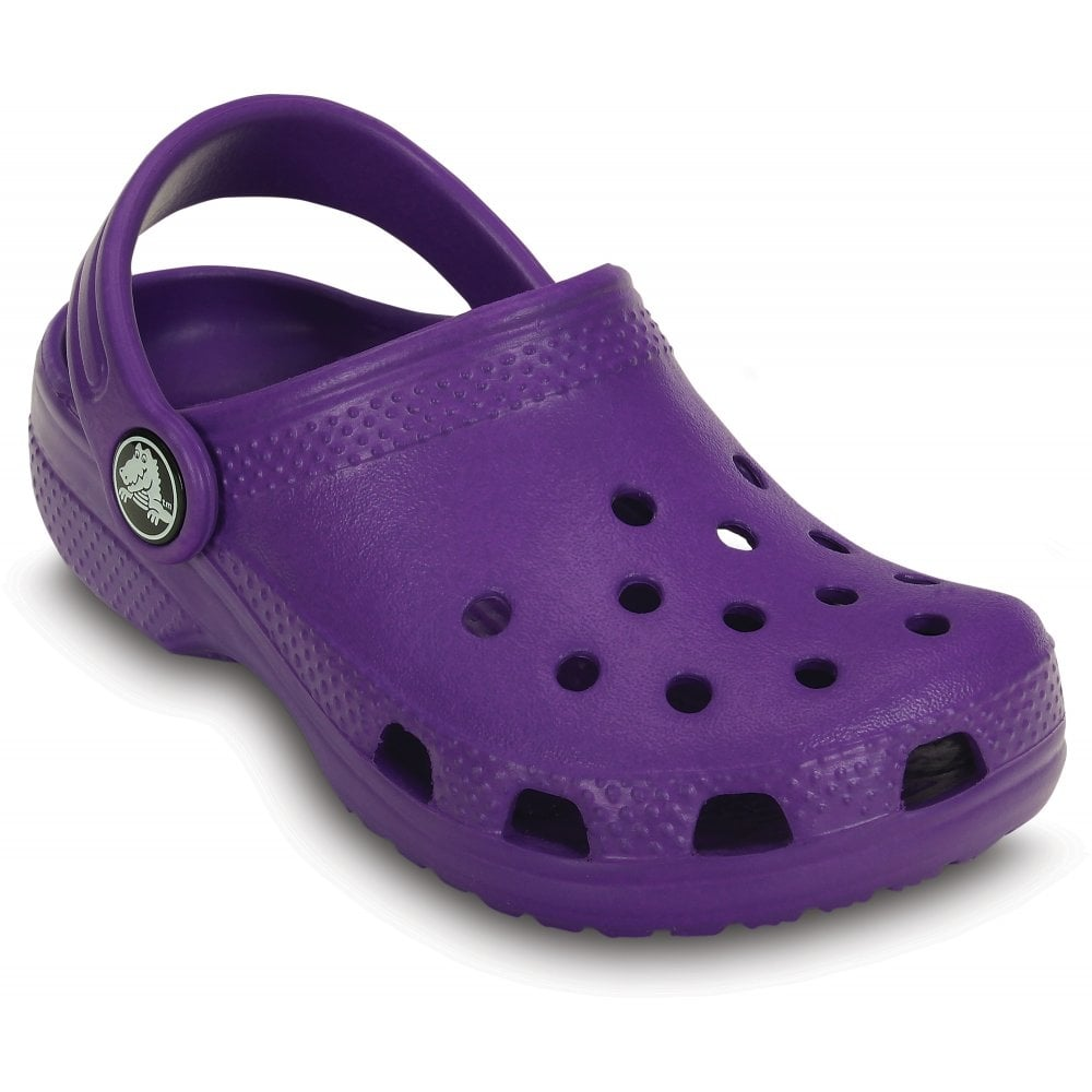 Crocs Kids Classic Shoe Neon Purple The Original Kids