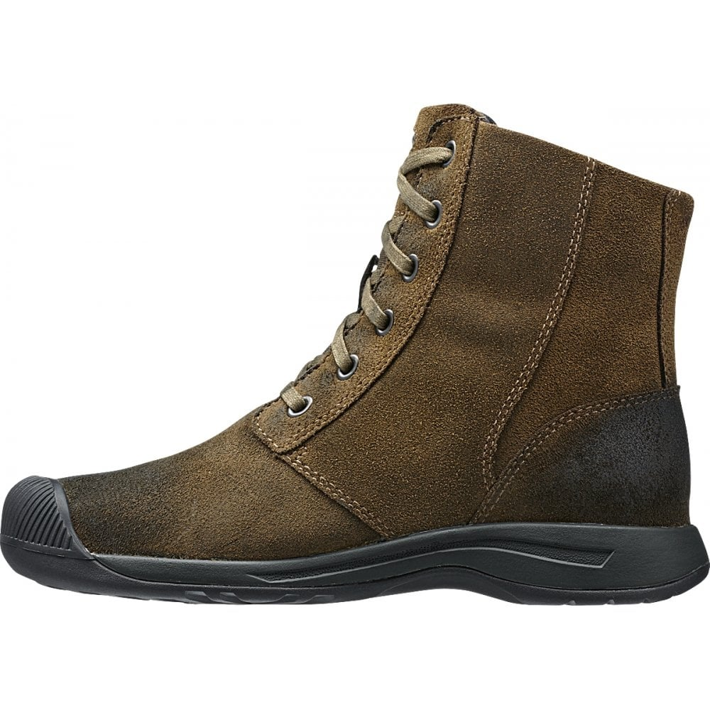 keen womens reisen boot wp cascade brown waterproof