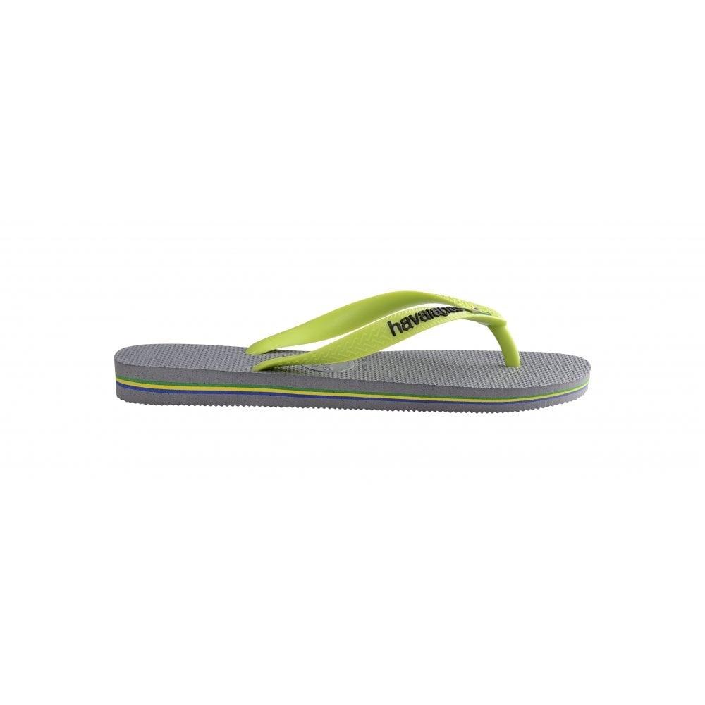 havaianas brasil logo steel grey the original flip flop. Black Bedroom Furniture Sets. Home Design Ideas