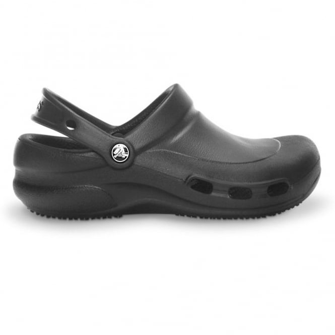 Crocs Bistro Vent work clog Black, non slip sole with side ventilation ports