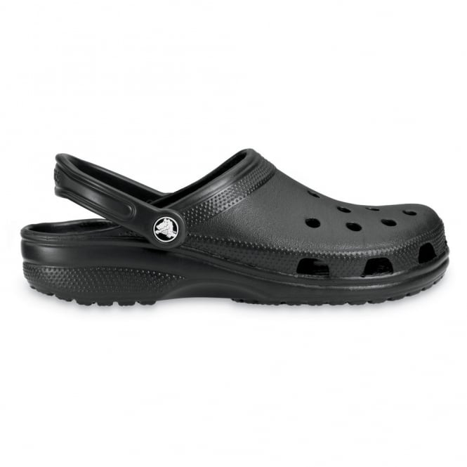 Crocs Classic Shoe Black, Original Crocs slip on shoe