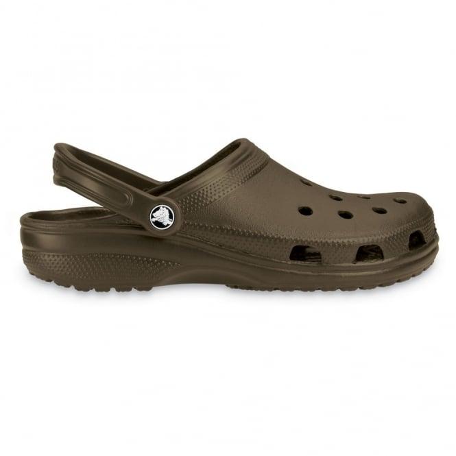 Crocs Classic Shoe Chocolate, Original Crocs slip on shoe