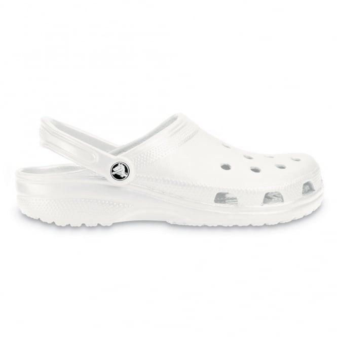 Crocs Classic Shoe White, Original Crocs slip on shoe