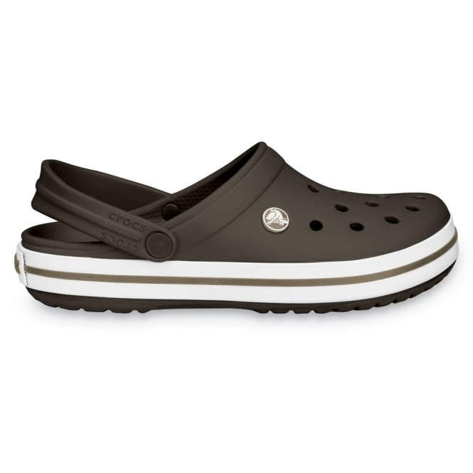 Crocs Crocband Shoe Espresso, All the comfort of a Classic but with a Retro look
