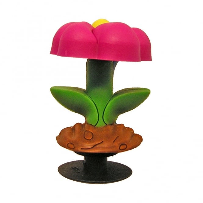 Jibbitz 3D Flower Fuchsia