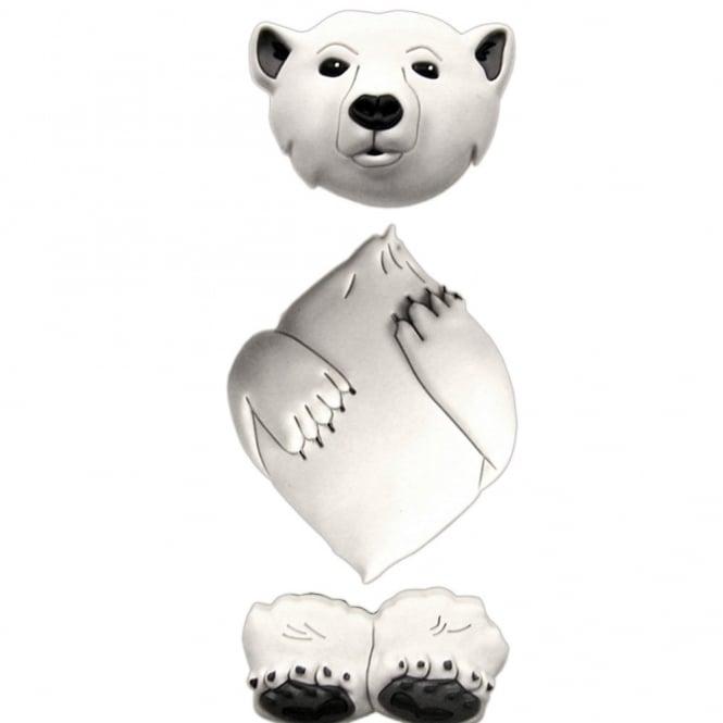 Jibbitz 3D Polar Bear