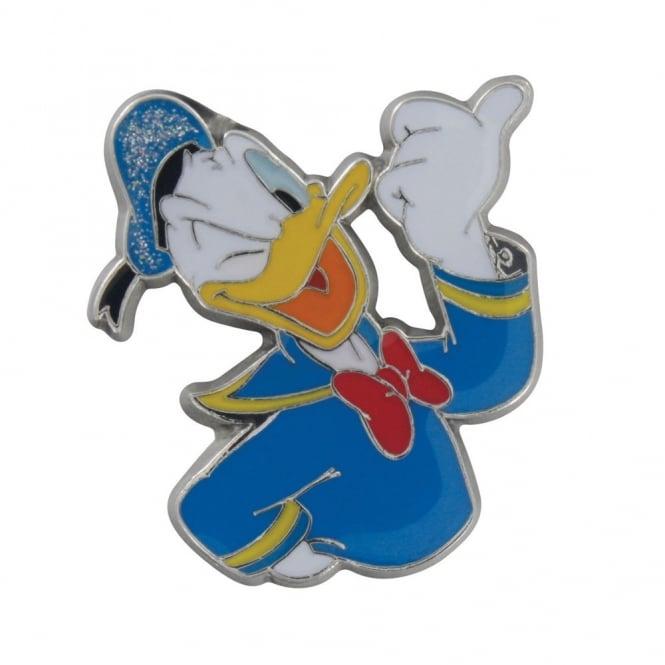 Jibbitz Donald Duck Metal Glitter