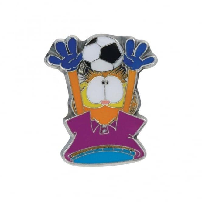 Jibbitz Garfield Football Metal