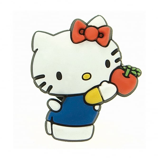 Jibbitz Hello Kitty with Apple