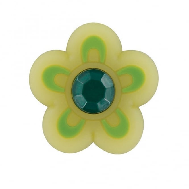 Jibbitz Sugar Flower Small Yellow