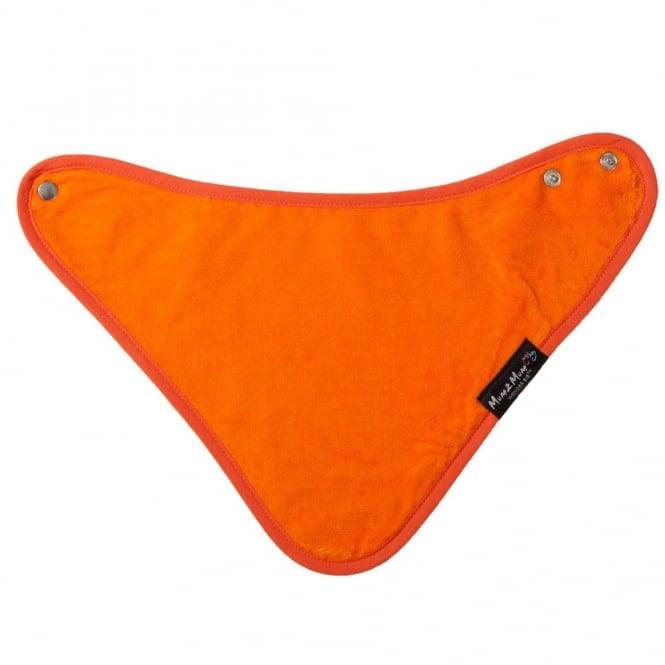 Mum2Mum Bandana Wonder Bib Orange, Highly Absorbent Bib
