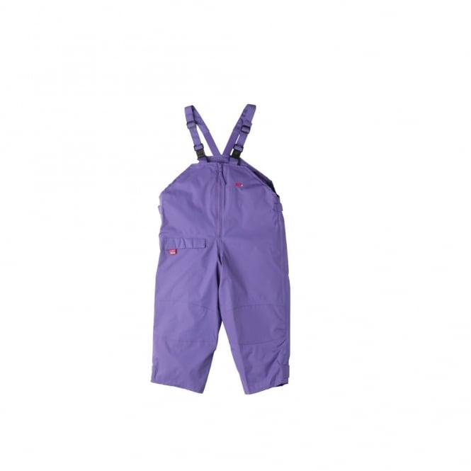 Togz Dungaree Waterproofs Purple, Breathable comfort