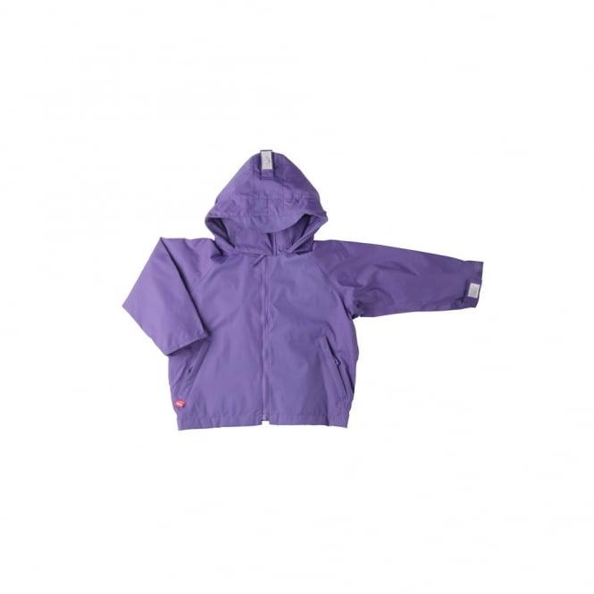 Togz Waterproof Jacket Purple, Features Safe & Seen Hi Vis