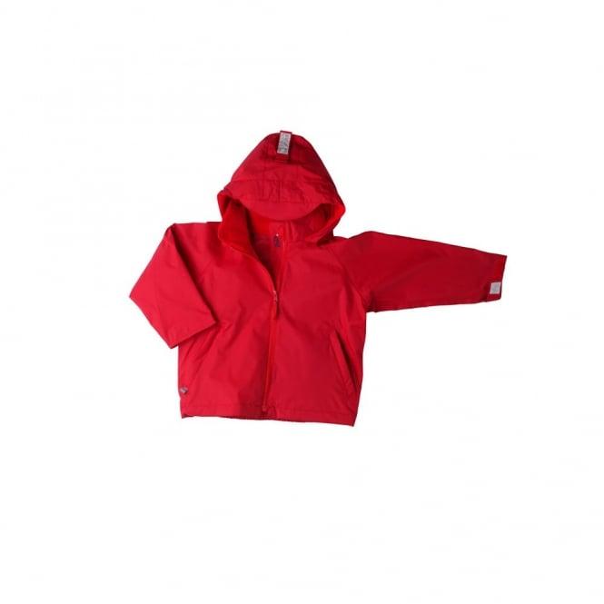 Togz Waterproof Jacket Red, Features Safe & Seen Hi Vis