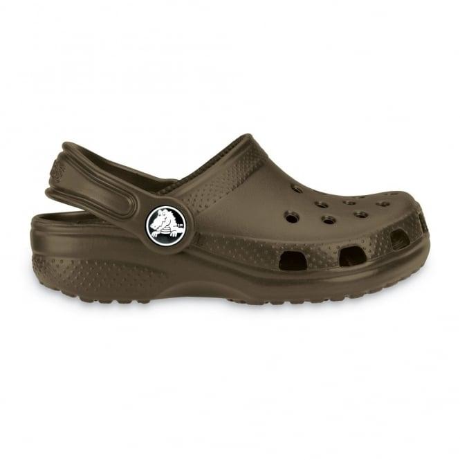 Crocs Kids Classic Shoe Chocolate, The original kids Croc shoe