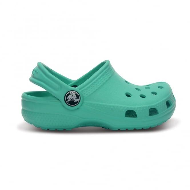 Crocs Kids Classic Shoe Island Green, The original kids Croc shoe