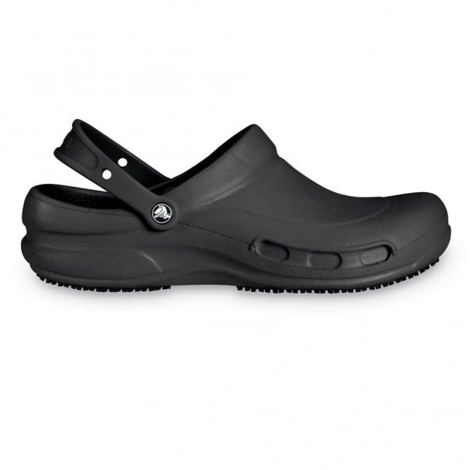 Crocs Bistro Black, Enclosed croslite work clog with Crocs Lock slip resistant soles