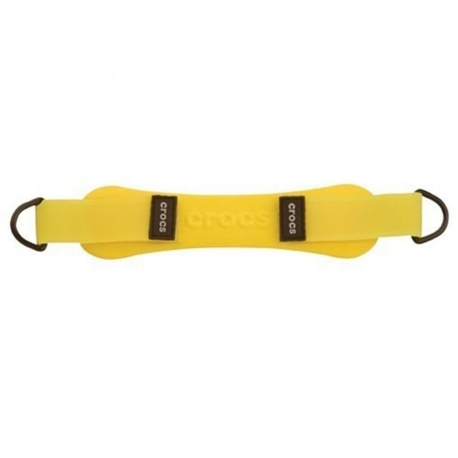 Crocs Turbo Strap Yellow, Fully adjustable light weight back strap