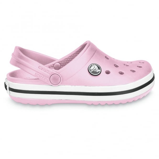 Crocs Kids Crocband Shoe Bubblegum, All the comfort of a Classic but with a Retro look