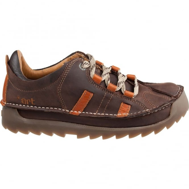 The Art Company 0602 Skyline Shoe Brown-Cuero, Chunky leather lace up shoe