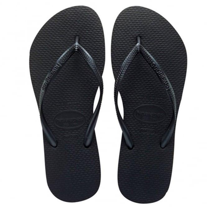 Havaianas Slim Black, Slender Flip Flops