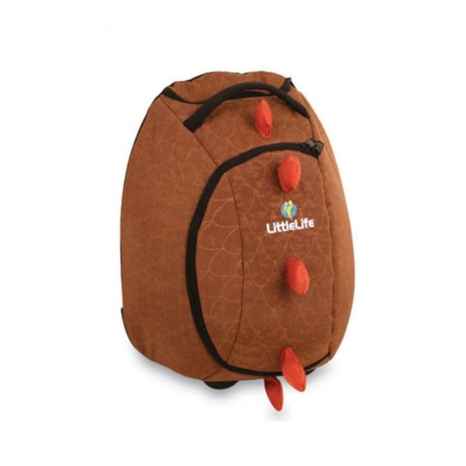 LittleLife Animal Wheelie Duffle Dinosaur, fun suitcase for little adventurers