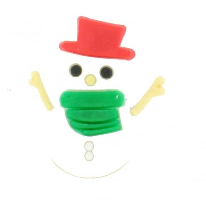 Shoe Charms Christmas Snowman