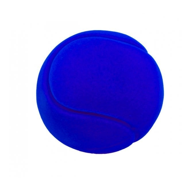 Rubbabu Ball Tennis Ball Blue, Natural foam toys in simple shapes and bright colours