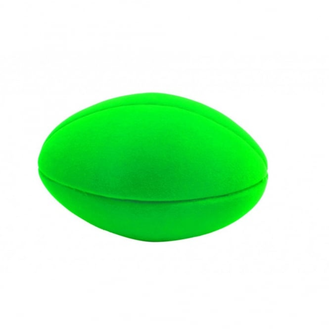 Rubbabu Ball Football Ball Green, Natural foam toys in simple shapes and bright colours