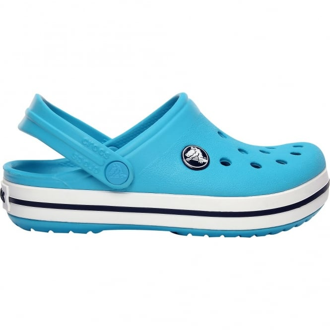 Crocs Kids Crocband Shoe Surf/Navy, All the comfort of a Classic but with a Retro look