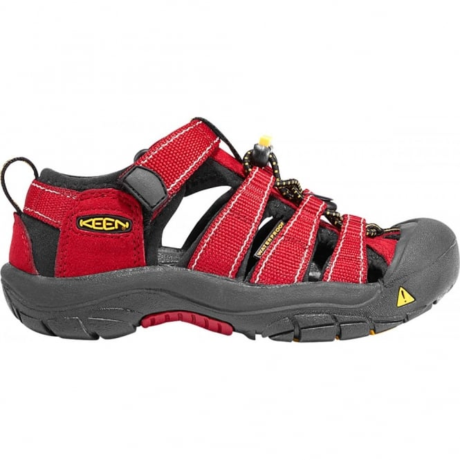 KEEN Kids Newport H2 Carnelian, ideal for in and out of the water