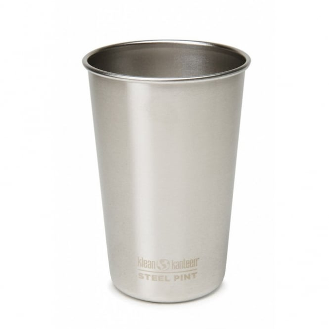 Klean Kanteen 473ml Steel Pint Cup (USA pint) Brushed Stainless, a versatile multi-use cup for any occasion