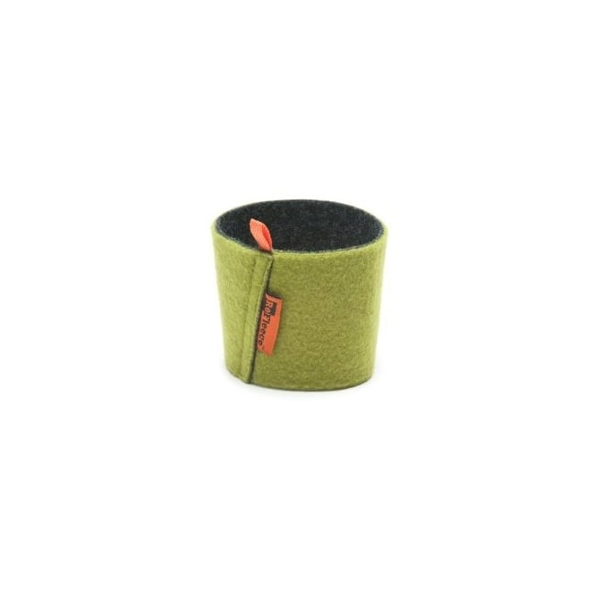 Klean Kanteen ReFleece™ Pint Cozie Green, Soft fleece insulates hands from hot or cold