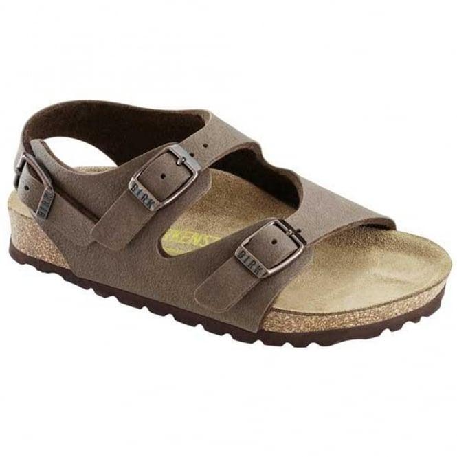 Birkenstock Kids Roma 233073 Mocha, Kids Classic 3 strap Sandal