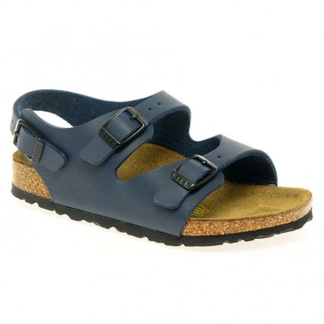 Birkenstock Kids Roma 233083 Navy, Kids Classic 3 strap Sandal