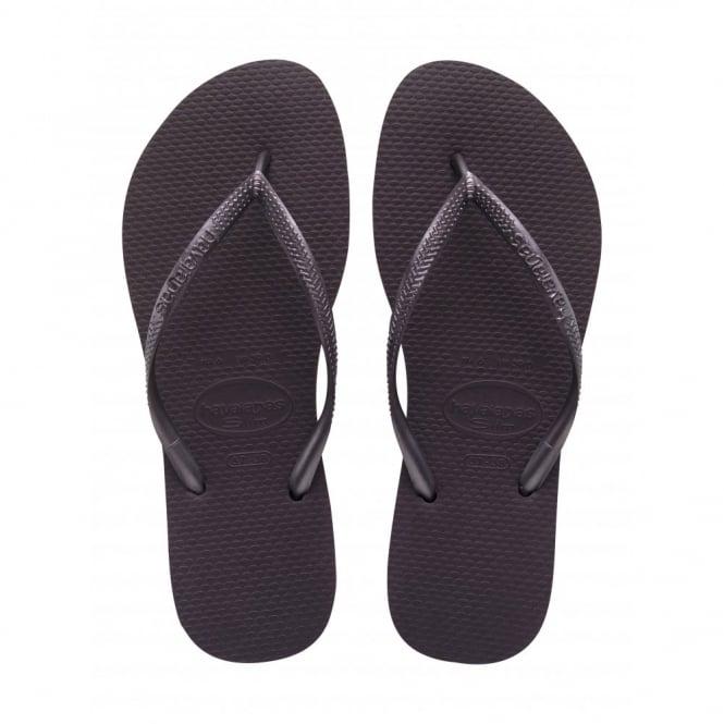 Havaianas Slim Aubergine, Slender Flip Flops
