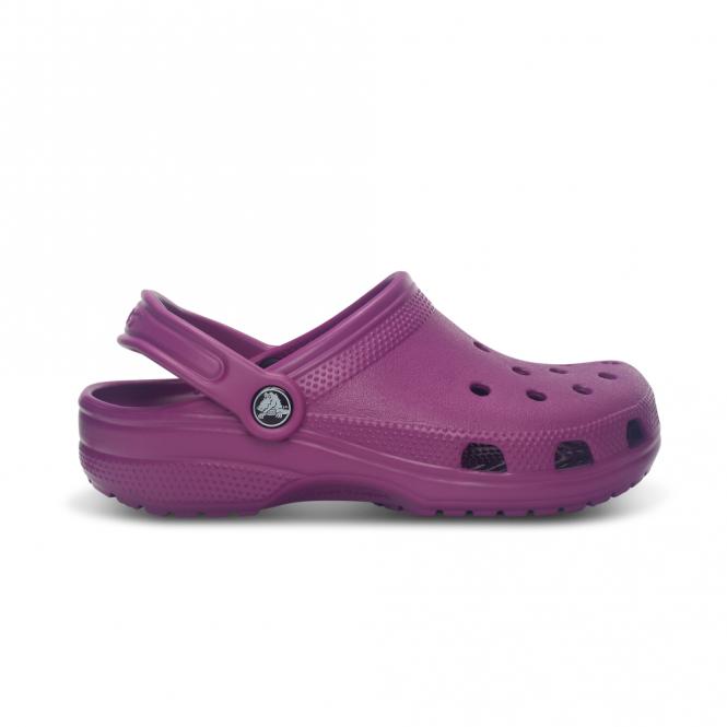 Crocs Classic Shoe Viola, Original Crocs slip on shoe