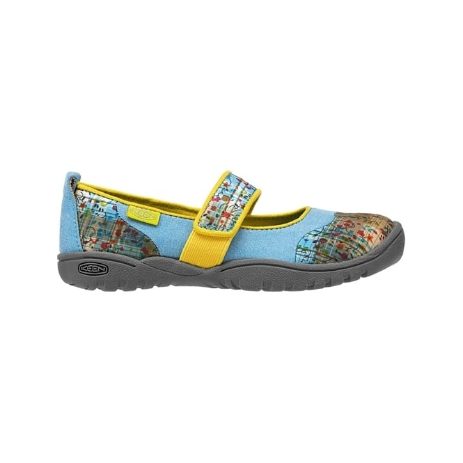 KEEN Kids Harvest MJ Swedish Blue, Mary Jane style flat ideal for all day comfort