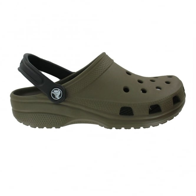 Crocs Classic Mix Shoe Chocolate/Black, The original Croc shoe