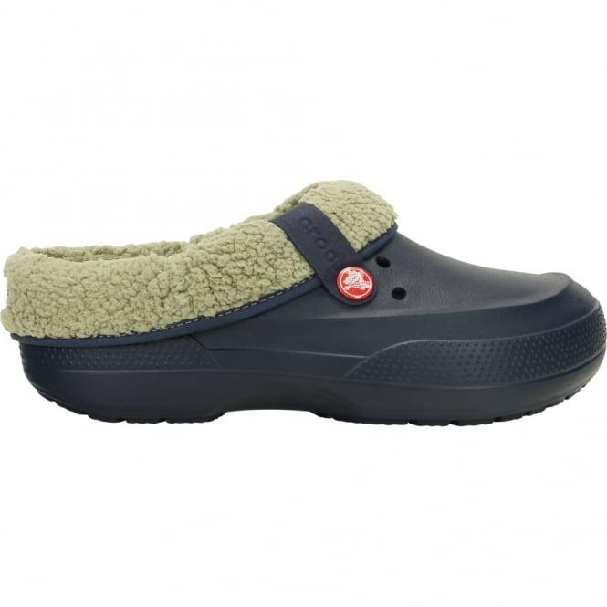 Crocs Blitzen II Clog Navy/Clay, easy to remove liner