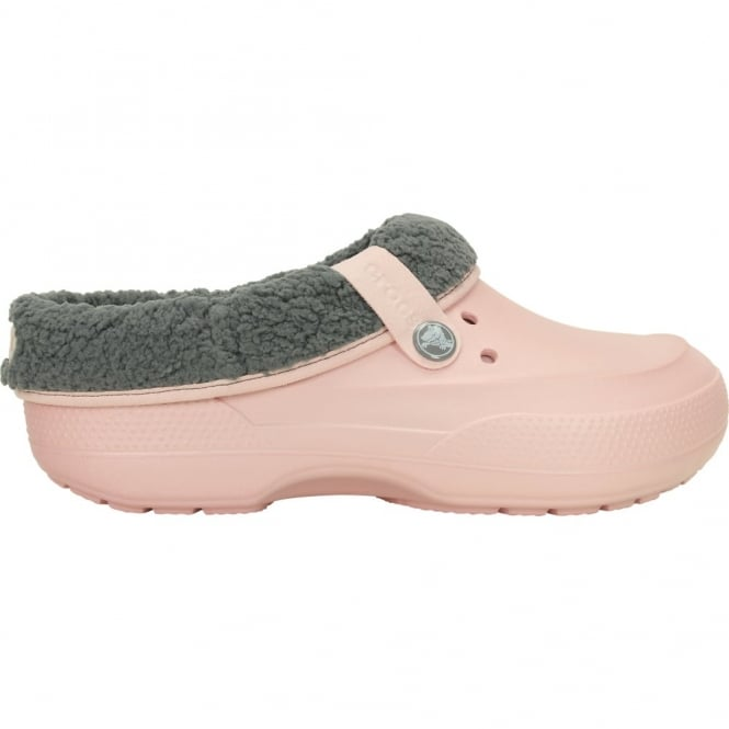 Crocs Blitzen II Clog Pearl Pink/Smoke, easy to remove liner