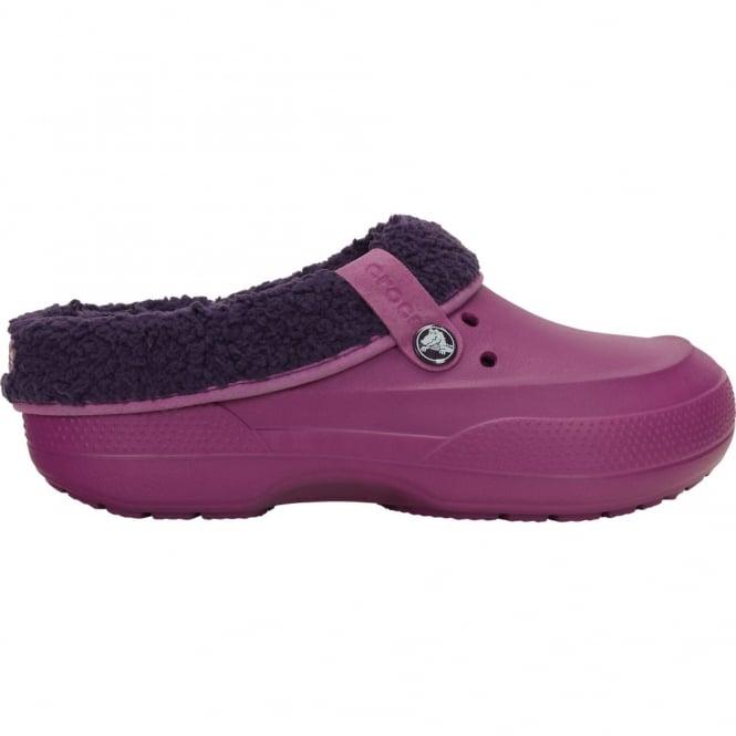 Crocs Blitzen II Clog Viola/Royal Purple, easy to remove liner