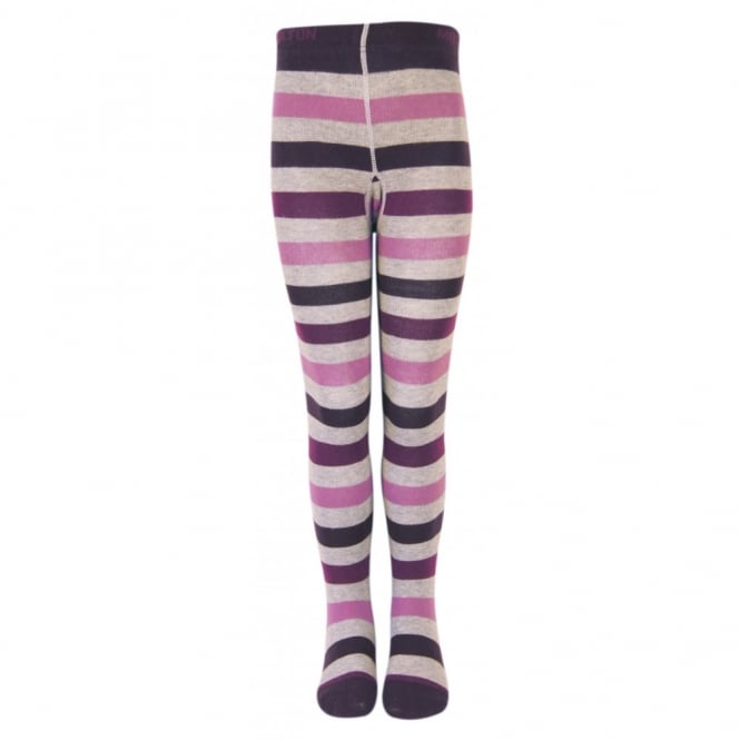 Melton Tights Susan 731 Dusty Purple, Soft and durable cotton tights